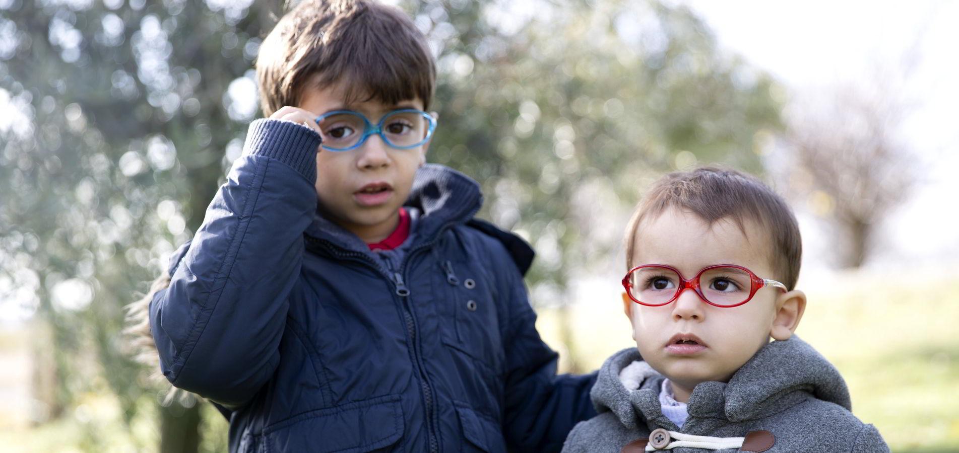Gafas para niños de diferentes edades